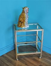 French vintage drinks trolley - SOLD